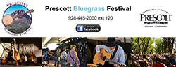 Arizona's Hometown Radio Group proudly sponsors the Prescott Bluegrass Festival.